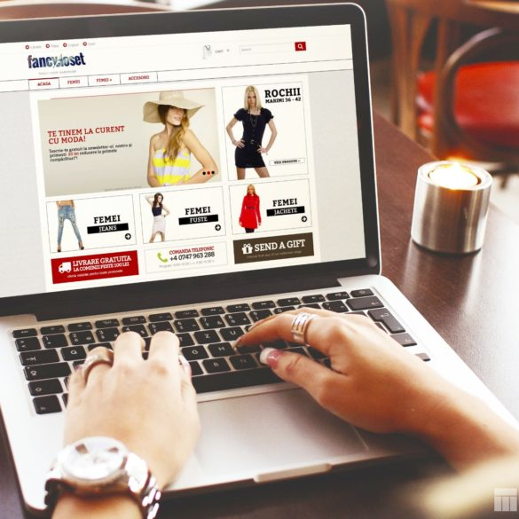 Web Design Bucuresti - Fancy Closet (fancycloset.ro)