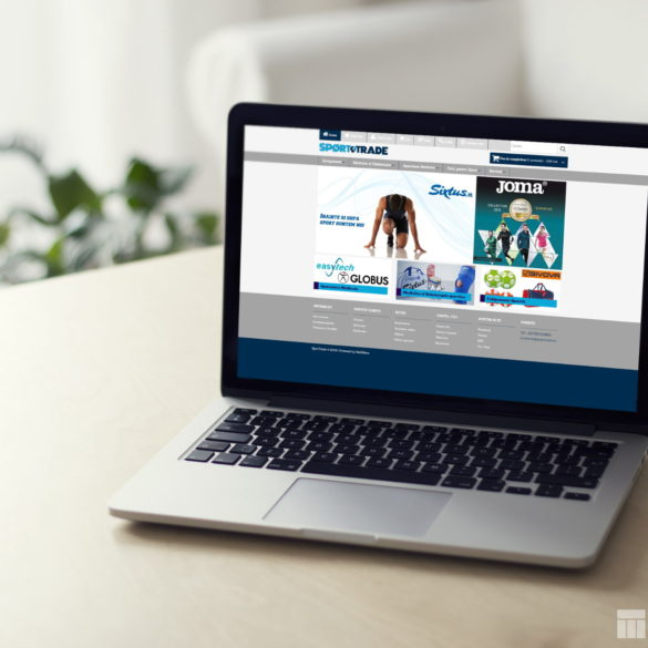 Web Design Bucuresti - Sport Trade (sportrade.ro)
