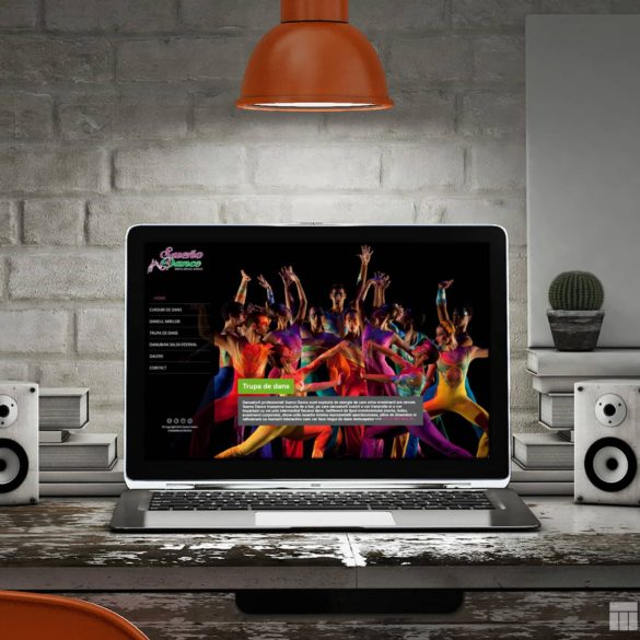 Web Design Bucuresti - Sueno Dance (suenodance.ro)