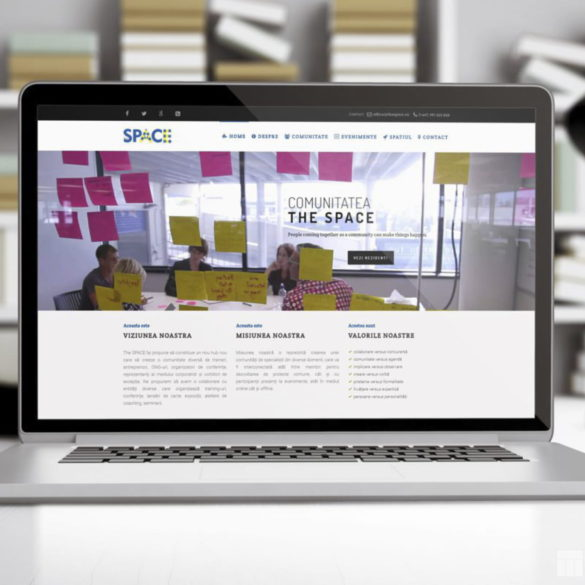 Web Design Bucuresti - The Space (thespace.ro)