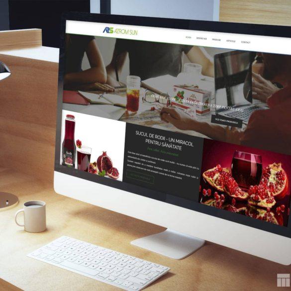 Web Design Bucuresti - Azrom Sun (azromsun.ro)