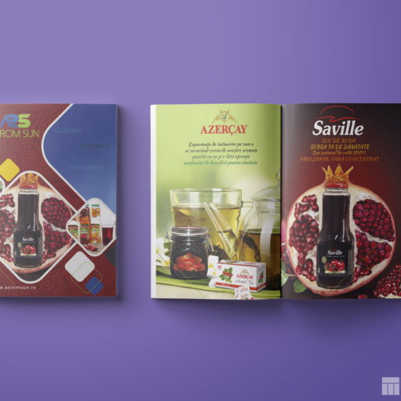Web Design Bucuresti - Azrom Product Catalog