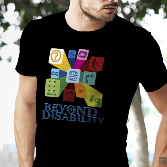 Web Design Bucuresti - Beyond Disability T-shirt