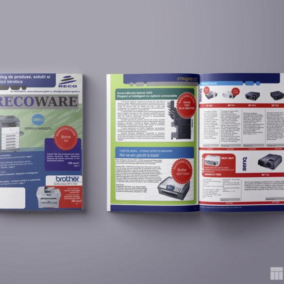 Web Design Bucuresti - Catalog produse RECO