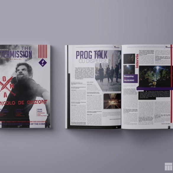 Web Design Bucuresti - The Intermission Magazine No2