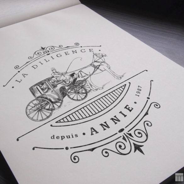Web Design Bucuresti - La Diligence Annie Logo