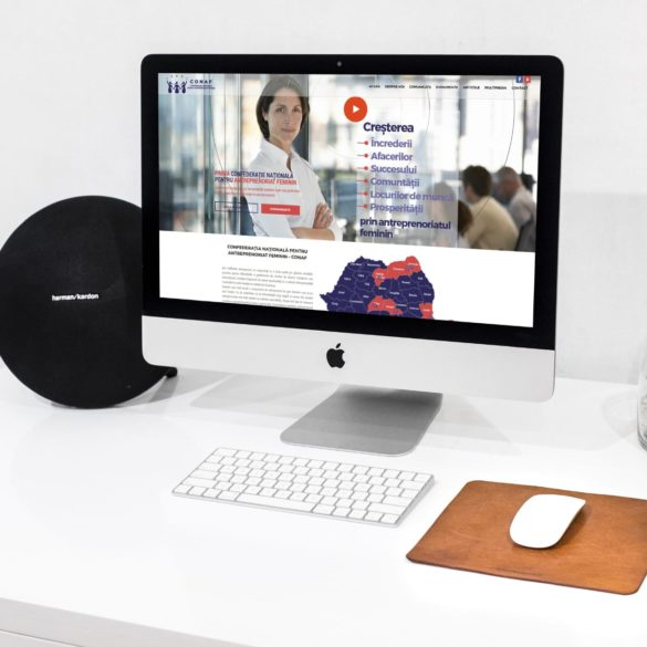 Web Design Bucuresti - Conaf (conaf.ro)